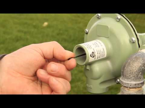 How To: Reset The Pressure Regulator on a Bulk Tank – Calor Gas