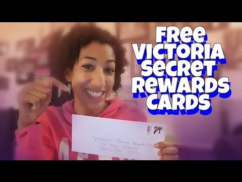 🔥 How to get FREE Victoria Secret Rewards Cards by mail without a purchase!!!