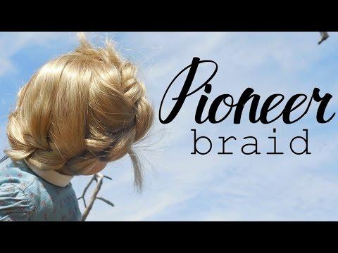 Pioneer Braid Tutorial | Long Hairstyle | VintageDollies