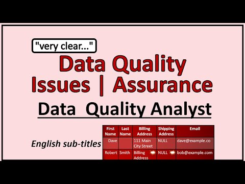 Data Quality Concepts