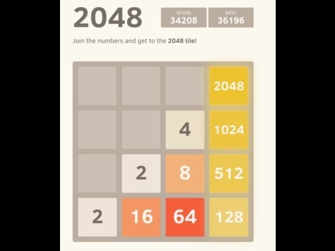 2048: How to achieve a 4096 tile