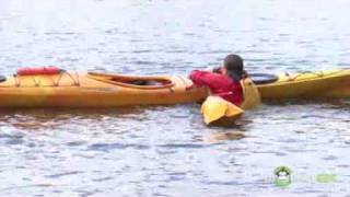 Kayak   Paddle Float Self Rescues and Re Enter and Roll