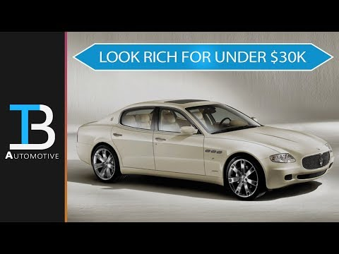 Here are the 6 Best Used Luxury Cars Under $30,000 - Own a Maserati Cheap!