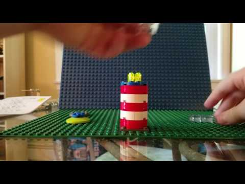 How to build a lego Lighthouse