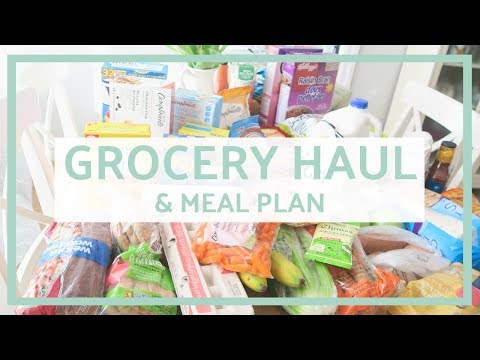 Grocery Haul & Meal Plan   Budget-friendly & New Products!