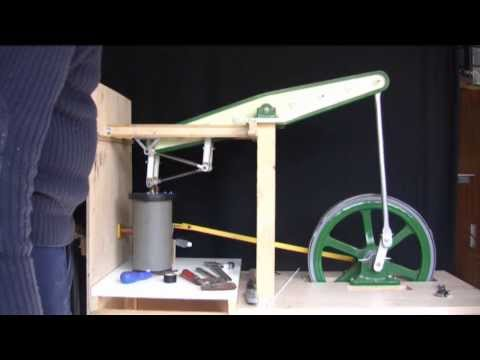 BEAM ENGINE  CUBIC CAPACITY OF THE CYLINDER, Part 11 by shed engineering.