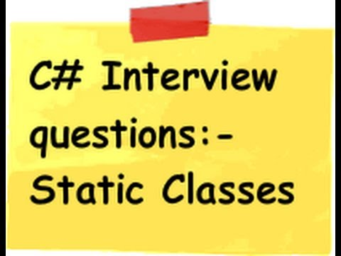 c# interview questions:-Prove that only 1 instance of the object is created for static classes?