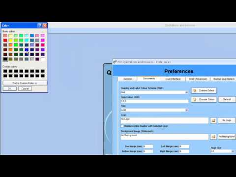 Quotations and Invoices - Basic Settings