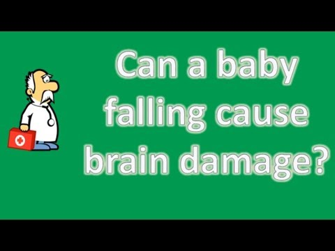 Can a baby falling cause brain damage ? | Better Health Channel