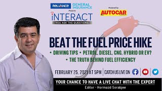 Beat the fuel price hike - Chat LIVE with Hormazd Sorabjee
