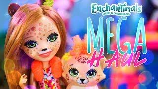 Unbox Daily: Enchantimals MEGA HAUL   Clarita Clownfish   Hixby Hedgehog & More