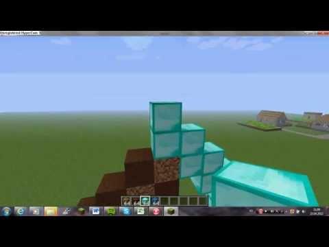 Minecraft - Pixel Art Tutorials--- Diamond Pickaxe---