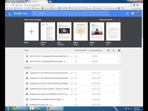 Offline Editing in Google Drive