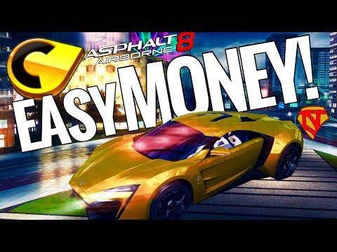 ASPHALT 8 EASY MONEY! Easy Credits for Asphalt 8: Airborne | iOS/Android | NO JAILBREAK