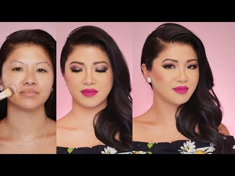 Wearable Smokey eye for droopy monolid   Beauty Makeover