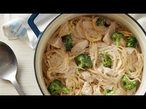 One-Pot Caesar Chicken Pasta