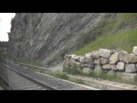 Train trajet de Aix en Provence à Marseille