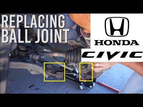 Honda Civic FG1 Ball Joint Replacement