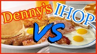 IHOP VS Denny's on Best Breakfast? Sampler Breakfast VS Lumberjack Slam
