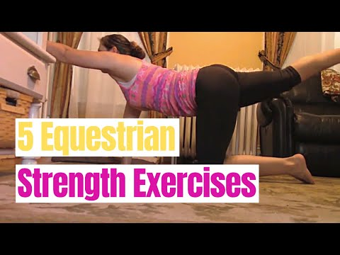 Improve Riding: 5 at Home Strength Exercises