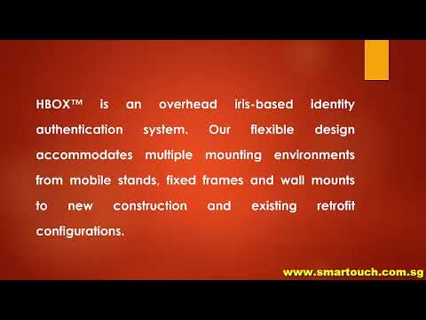 Biometric Iris Detection HBOX Introduction For Access Control System