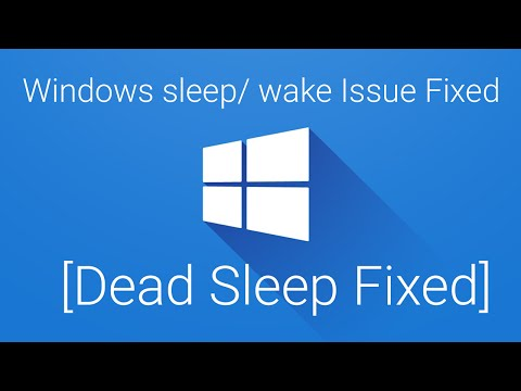 Windows PC Does not Wake Up From Sleep Fixed 2016