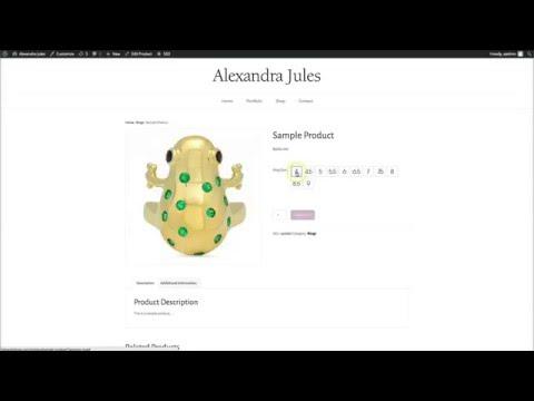Custom Product variables- Woocomerce