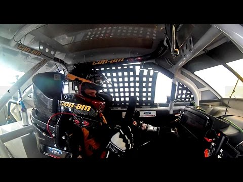 Nascar Driver Jeff Earnhardt Ride Along: In-Dash Camera