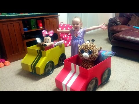 How to Make a Cardboard Box Car for Kids by Trinity and Beyond