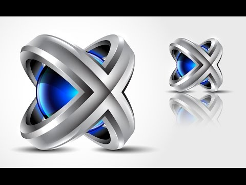 3D Logo Design | Adobe Illustrator CC | Tutorial | HD | X3