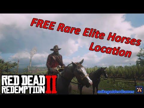 FREE Rare Elite Horses Location | Red Dead Redemption 2 Episode 12