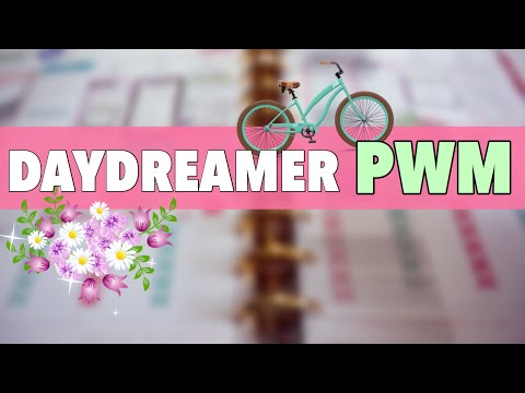PLAN WITH ME: DAYDREAMER - THE HAPPY PLANNER | CLASSIC HAPPY PLANNER PWM MARCH 26 - APRIL 1