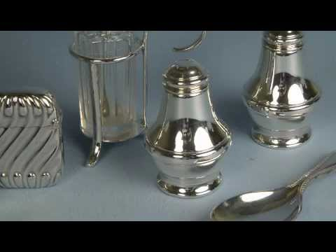 Silver plating antiques