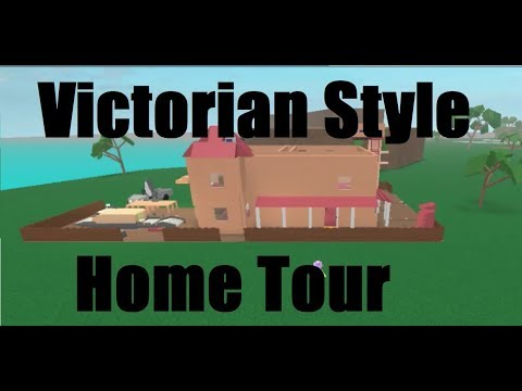 Victorian Style House (Unfinished) Tour | Roblox (Lumber Tycoon 2)