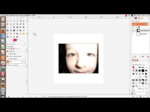 Color Select Tool In GIMP