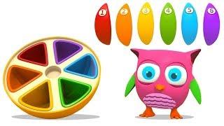 Download Развивающие мультики для малышей Совенок Хоп Хоп - Сборник 4 Video