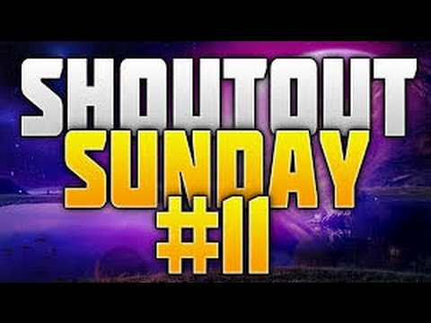 Shoutout Sunday Series Ep.11 ''Gain More Subscribers''!! (Happy New Year)