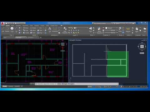 How to draw a floor plan in AutoCAD step by step (Part 5): Trim, Layers, & Blocks