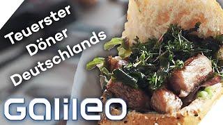 Teuerster Döner: Ist der Münchner Luxus-Kebab sein Geld wert? | Galileo | ProSieben