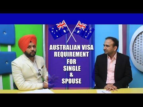 Australia Student Visa Process - Single or Spouse