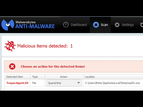 How remove Malware on my pc or laptop ( Anti Malware 2015 )