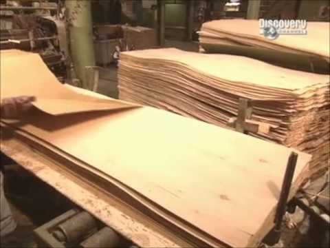 How it's made - Plywood doors