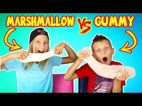 GUMMY vs MARSHMALLOW SLIME CHALLENGE!!!