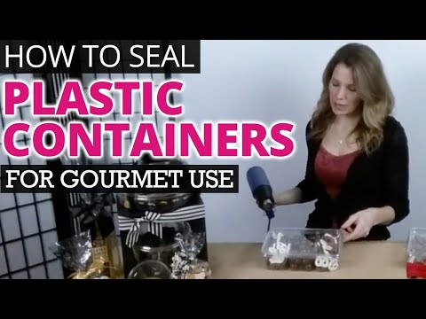 Sealing Clear Plastic Food Containers for Gourmet Use  | Nashville Wraps