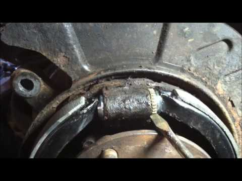 Mazda CX-7 E-Brake failed inspection   what I did to fix it