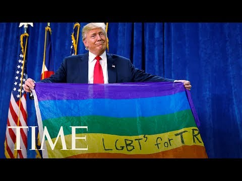 Everything President Trump Has Said About The LGBTQ Community, Including Fighting For Them   TIME