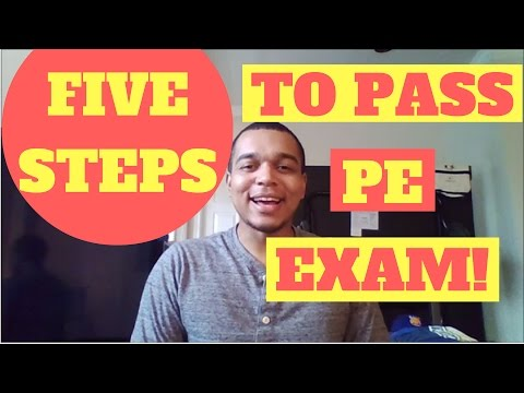 Pass PE Exam in 5 SIMPLE Steps (Study Notes in Description!)