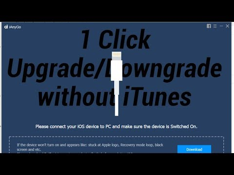 1 Click Upgrade/Downgrade iOS System without iTunes + GIVEAWAY