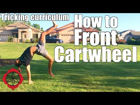 How to Front Cartwheel (Front Walkover) | Tricking Basics Tutorial