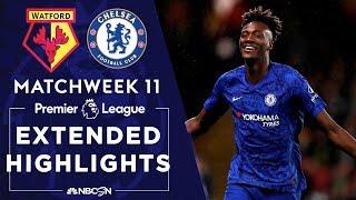 Watford v. Chelsea | PREMIER LEAGUE HIGHLIGHTS | 11/02/19 | NBC Sports
